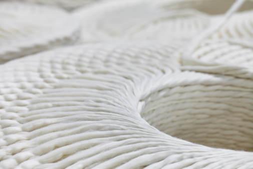 Spinning de fibras grapadas de Polietileno
