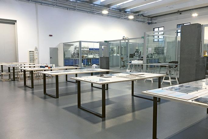 Laboratorio de I+D (Innovación y Desarrollo) de Zschimmer & Schwarz Ceramco durante la celebración de su jornada de puertas abiertas